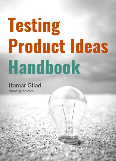 Testing Product Ideas Ebook